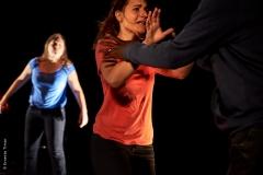 Le Lien Théâtre -Tu m'agresses la parole - Photo © Ernesto Timor