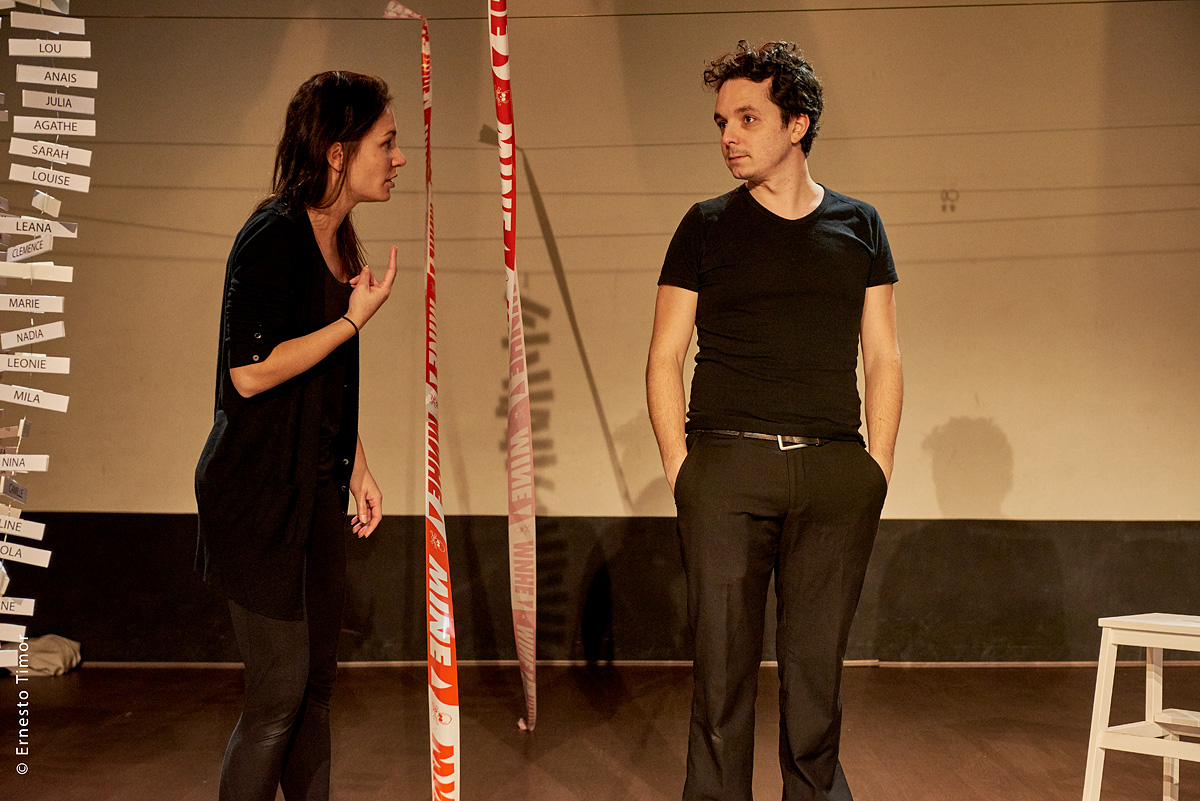 Le Lien Théâtre - Projet H - Photo © Ernesto Timor
