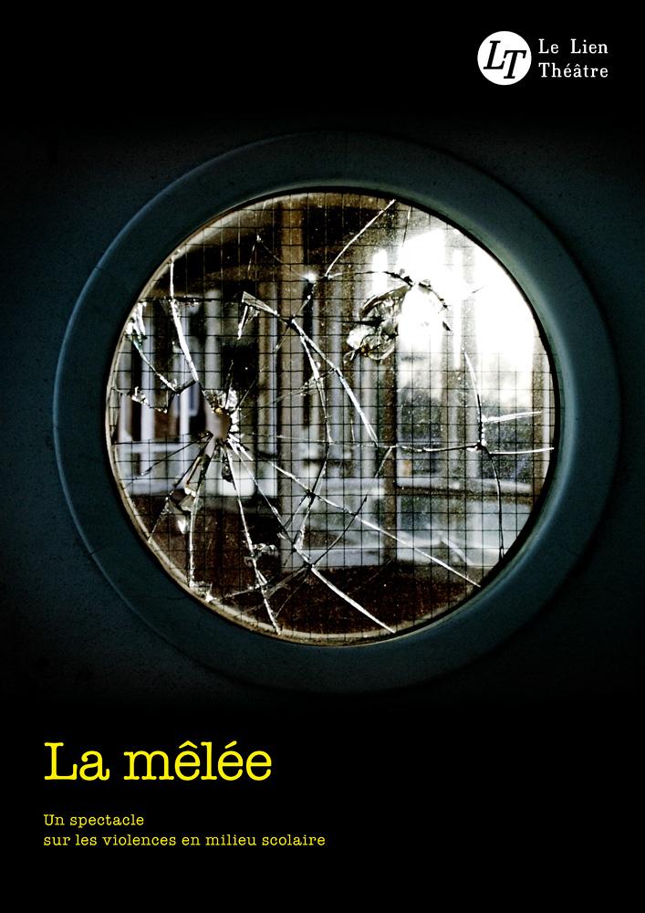 La Mêlée, spectacle du Lien Théâtre. © Ernesto Timor (photo et graphisme).