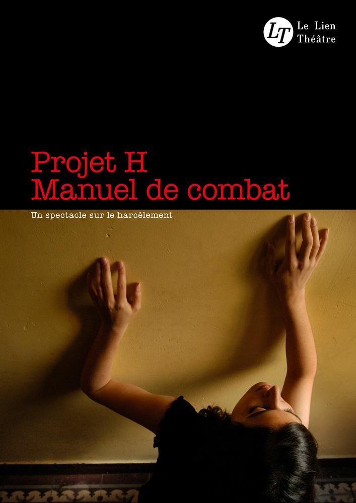 Projet H, spectacle du Lien Théâtre. © Ernesto Timor (photo et graphisme).
