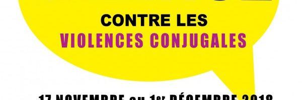 Festival Brisons le silence contre les violences conjugales, édition 2018