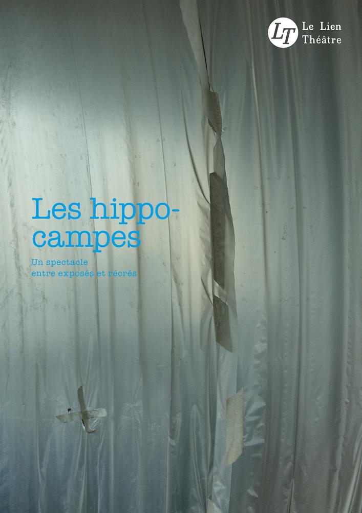 Les hippocampes, spectacle du Lien Théâtre. © Ernesto Timor (photo et graphisme).